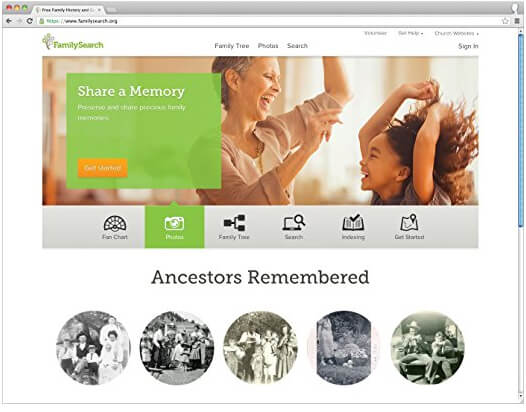 Family Tree Heritage 9 FamilySearch