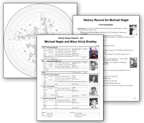 Family Tree Heritage 9 Reports