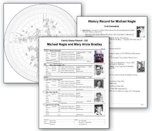 Family Tree Heritage 9 Reports