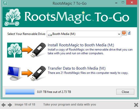 RootsMagic 7 To Go