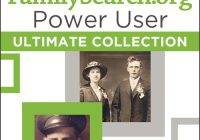 How To Use FamilySearch.org - FamilySearch.org Power User Ultimate Collection