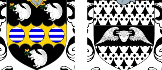 Animals on Coat of Arms