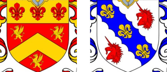 Creatures on Coat of Arms