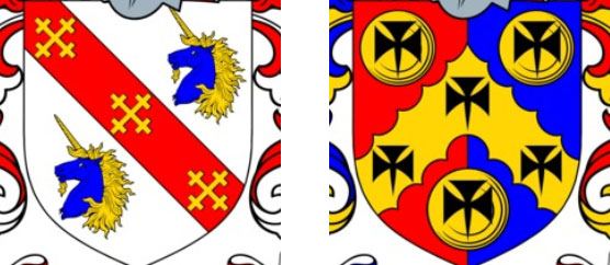 Crosses on Coat of Arms