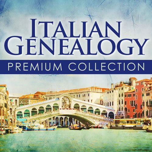 Italy Heritage - Italian Genealogy Premium Collection