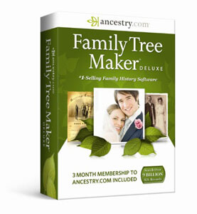 Software Family Tree Maker Deluxe