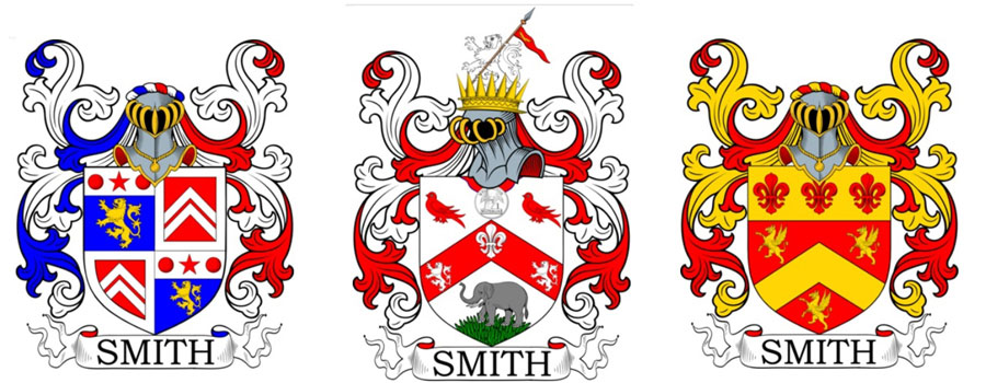 Symbols on Coat of Arms