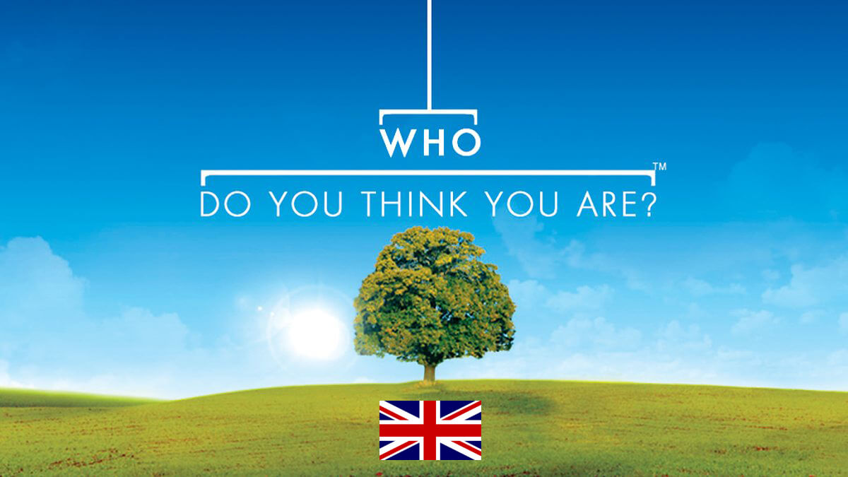 Who Do You Think You Are Show - UK