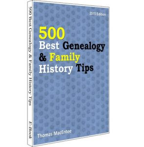 500 Best Genealogy Tips
