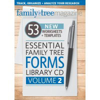 Essential Family Tree Forms Volume 2