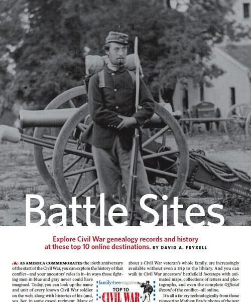 Find Civil War Ancestors