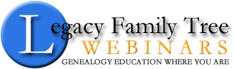Legacy Family Tree Webinars