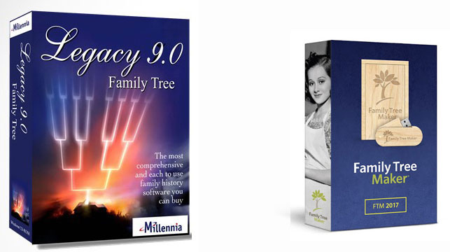 Legacy Genealogy Software and Family Tree Maker