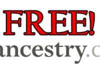 Ancestry Free