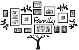Family Tree Wall Decal by AZterisk