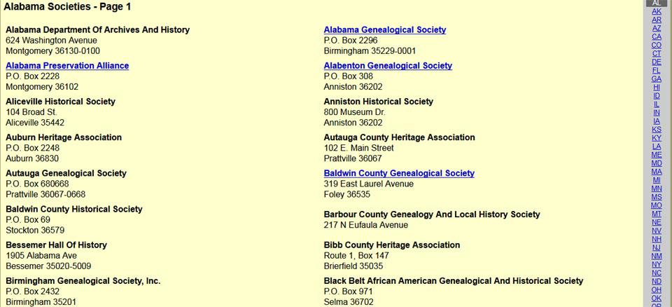 D'Addezio Alabama Societies - Page 1
