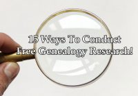 Free Genealogy Research