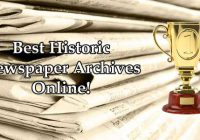 Best Historical Newspaper Archives Online