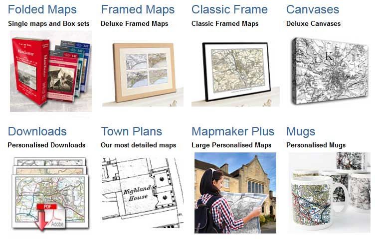 Cassini Maps Review - Products
